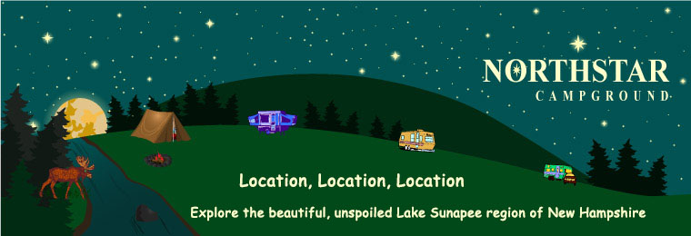 HOME PAGE, Northstar Campground, camping in New Hampshire