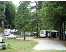 NH campground Seasonal Campsites