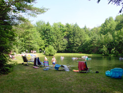 Campgrounds Swimming Pond